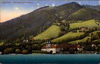 Tegernsee Bayern Oberbayern ~1910 Herzogliches Schloss Palast Panorama Gewässer