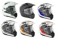 Stealth HD009 Motorcycle Bike All Adventure Motocross Helmet With Dual Visor