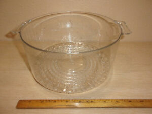 PARTS FOR A  BLACK AND DECKER HANDY STEAMER MODEL HS90 CLEAR STEAMER BOWL
