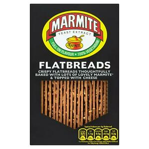 Marmite Yeast Extract Flatbreads -140G Sold Worldwide from UK