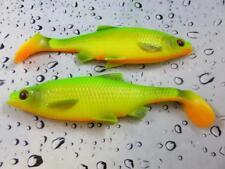 Savage Gear 3D LB Firetiger Roach Paddle Tail 12.5cm 22g soft lure pike Bait