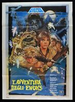 Manifesto L'Avventura Der Ewoks Lucas Star Wars John Korty Davis M287