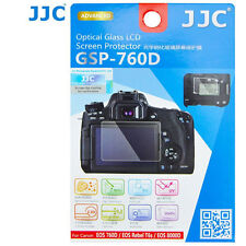 JJC GSP-760D Optical GLASS LCD Screen Protector Film Canon Rebel T6s 760D 8000D