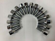 16 +4 Black Wheel Bulloni /& LOCK 14x1,5 DADI PER ALFA ROMEO 159 V6 JTD 05-11
