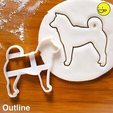 Shiba Inu cookie cutter | spitz Japanese dog treats adoption 柴犬 Japan loyal cute