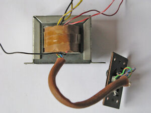 MAINS TRANSFORMER SUITABLE FOR BATTERY VALVE RADIO POWER SUPPLY ETC.