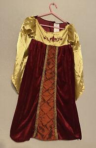 Renaissance Princess Costume Dress w Accessorie Girl Sz 2T/3T