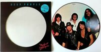 MINT! DEEP PURPLE PERFECT STRANGERS VINYL LP PICTURE PIC DISC