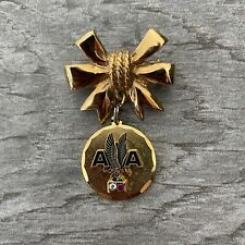 American Airlines Employee Service Award  Pin Diamond Ruby 15 Year