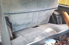 80-93 Chevy Chevrolet Blazer S-10 S10 Jimmy Tahoe REAR BENCH SEAT CLOTH BLUE
