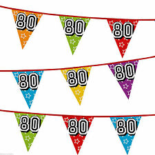 Anniversary 6-10 m Party Banners, Buntings & Garlands