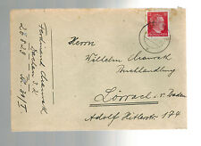 2 1943 Germany Dachau Concentration Camp Consecutive Cover Ferdinand Maurath