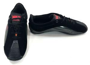 Puma Shoes Kraftek SF Ferrari Blackraven Blackrosso Red Sneakers Size 7.5