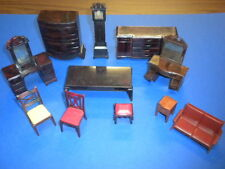 DOLLHOUSE FURNITURE 11 pieces vintage plastic 1950's/1960's lot #3 Renwal Ideal