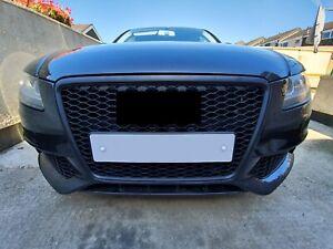Für Audi A4 B8 8K Waben Gitter Lüftungsgitter Stoßstange Grill Nebelscheinwerfer