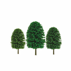 """JTT Scenery Products 92036 O 5-7"""" Super Scenic Evergreen Tree (Pack of 12)"""