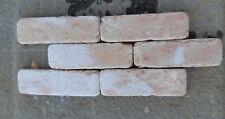 Mattoncini in pietra naturale Marmo Rosa Asiago 10x3x1 cm FINE SERIE