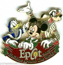 WDW Epcot Holidays Around The World 2005: Fab 3 LE Pin