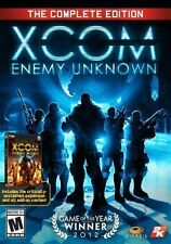 XCOM: Enemy Unknown -- The Complete Edition (PC, 2014) NEW