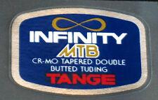 Tange Infinity MTB Frame tubing decal