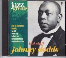 (CA158) Johnny Dodds, Hot Stuff - 1997 Jazz Greats CD No 029