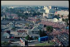 119097 Start Of LA Marathon Near Olympic Coliseum & Sports Arena A4 Photo Print