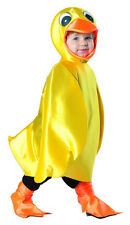 Yellow Ducky Bird Duck Farm Animal Fancy Dress Halloween Toddler Child Costume