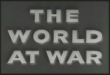 The World at War 1942 Documentary Events Leading To The U.S. Entry Into WW2 DVD