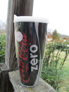 Coca-Cola Zero Coke Zero Tervis 24 oz Tumbler with White Lid