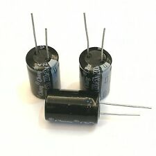 US Stock 10pcs Electrolytic Capacitors 2200uF 50V +105℃ Radial 16 x 25mm