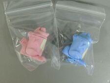 GIOCATTOLO: Figura di pin di tempo Coniglietto - rosa blu