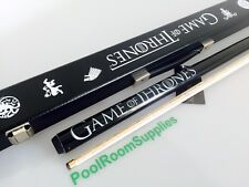 Game Of Thrones Pool Snooker Billiard Cue Stick & Case WOODEN Man Cave Gift