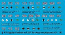 Peddinghaus 1/87 (HO) Jagdpanther Befehlspanther Markings s.Pz.Jag.Abt.654 1791