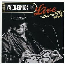 Waylon Jennings - Live from Austin TX [New CD] Jewel Case Packaging