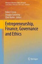 Entrepreneurship, Finance, Governance and Ethics (Advances in Business Ethics Re