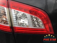 2012 Peugeot 508 SW 1.6 HDI Diesel Black KTVD NS Rear Left Inner Tail Light
