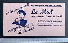 Buvard Miel de France / Blotter