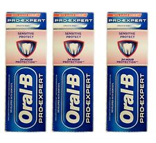 Oral-B Pro-Expert Toothpaste  Sensitive + Gentle Whitening 75ml - 3 Pack
