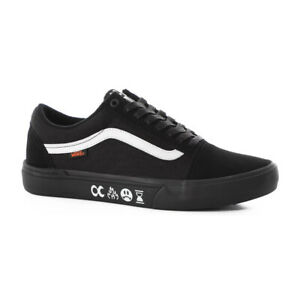 "Vans Off The Wall x CULT ""Old Skool Pro BMX"" Sneakers (Black/Black) BMX Shoes"
