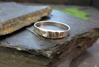 Zierlicher 925 Sterling Silber Ring LS Linder Schmuck Modernes Design Zirkonia