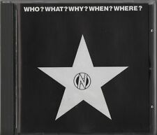 Who? What? Why? When? Where? (Mortarhate CD 2003) 80s Anarchopunk Conflict Crass
