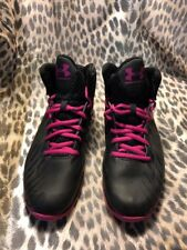 Under Armour Youth Jet Basketball Shoes Size Us 5Y (1274465-001) Pink/Black