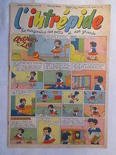 L'INTREPIDE 328  ANNEE 1956