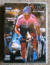 2005 Giro d'Italia World Cycling Productions 3 DVD 5 hrs Paulo Savoldelli Clean