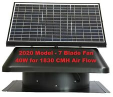 Solar Roof Auto Fan Vent Big 40W Power for Cooling Long Warranty Free Delivery