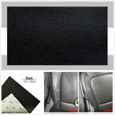 Universal 15*25cm Black Sheep Leather Repair Patch &Vinyl Adhesive For Car Seats