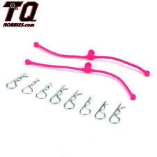 NEW Dubro Body Klip Retainers Pink (2) 2251 NIB Fast ship+ Track#