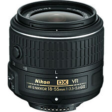 NIKON AF-S DX NIKKOR 18-55mm f/3.5-5.6G VR II Lens Camera Zoom Lens BULK Package