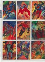 1994 DC Master Series Collectable Trading Card Complete Set of 90! Wonder Woman!