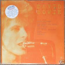 """DAVID BOWIE SANTA MONICA 1972 ~ CD PICTURE DISC + LE 7"""" VINYL EP #495 OF 15000."""